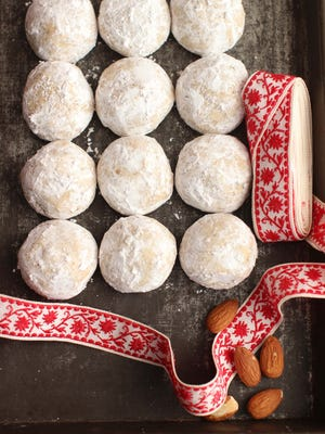 Honey nut cookies would package up for a welcomed gift.