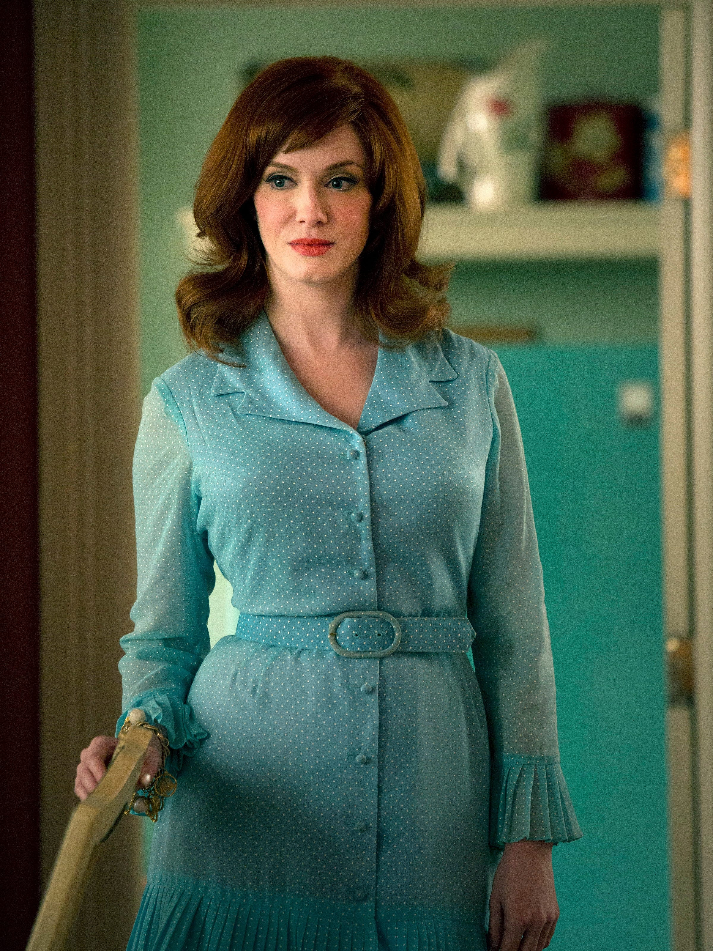Christina Hendricks Says Her Agency Dropped Her When She Agreed To Play Joan On Mad Men