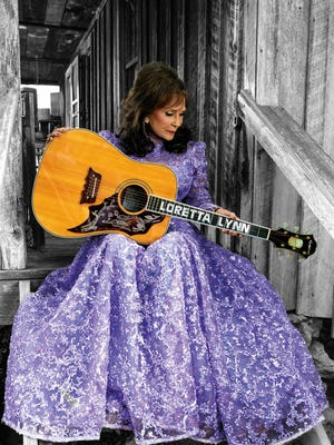 "Country music legend Loretta Lynn releases ""Full Circle,"" her first album in more than a decade, on Friday."