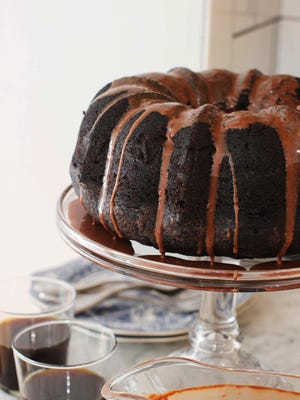 Chocolate Guinness cake with chocolate Guinness glaze may be the richest chocolate cake you've ever tried.