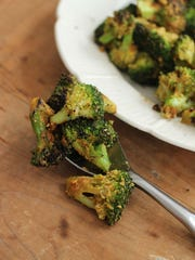 Stovetop roasted broccoli is made with nutritional yeast. This recipe gives you both a new way to season and a speedy way to roast broccoli.