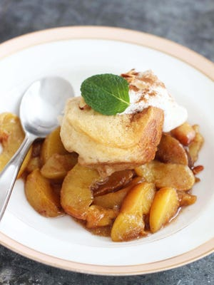 If you think all your slow cooker is good for is cranking out pots of chili and beef stew, think again. This versatile kitchen workhorse can be put to use for all manner of things you probably never realized, including desserts, such as this peach cobbler.