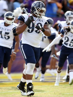 Cornelius Henderson was named preseason All-SWAC second team at defensive tackle.