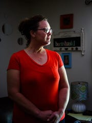 """Rebecca Geiken, the """"significant other"""" of Rodney Borushaski, pictured on Saturday, July 9, 2016, in Davenport, believes his case is not cut and dried."""