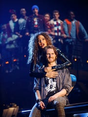 The Company of the RENT 20th Anniversary Tour, performing