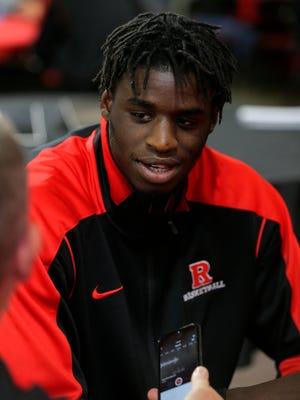 Rutgers' Candido Sa