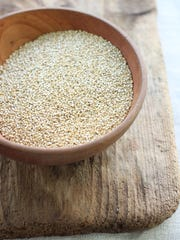 Brain-boosting foods like whole grains, including quinoa,