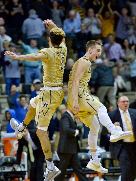 NCAA Basketball: Chattanooga at Vanderbilt