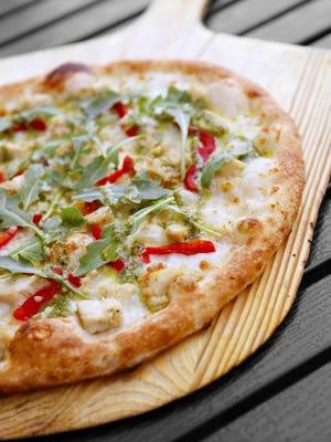 Blaze Fast-Fire'd Pizza lets you build your own pie.