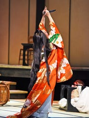 "Sandra Lopez as Cio-Cio-San in ""Madama Butterfly"" at"