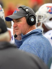 Louisiana Tech coach Skip Holtz has one year left on his original five-year deal he signed in December 2012.