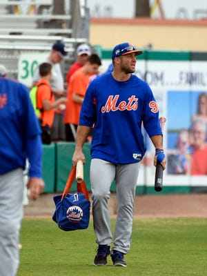 Tim Tebow has four hits in his first 17 Grapefruit League at-bats.