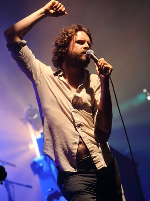 Joshua Tillman of Father John Misty performs at the 2013 Bonnaroo Music and Arts Festival in Manchester Tennessee.