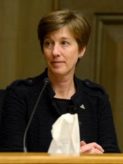 Asheville City Councilwoman Julie Mayfield