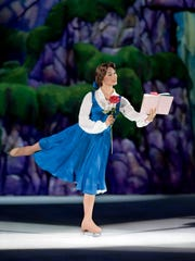 "Belle from ""Beauty and the Beast"" is one of the characters who will appear in Disney On Ice presents Dream Big at the American Bank Center, 1901 N. Shoreline Blvd., through Sunday, May 7. Cost: $18-$67. Information: 361-826-4700 or Disneyonice.com."
