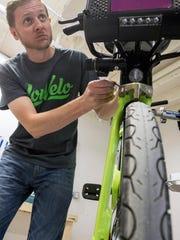 LouVelo Bikeshare GM Matthew Glaser makes adjustments