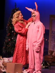 "Performances of ""A Christmas Story"" continue this weekend at Broadway Palm in Fort Myers."