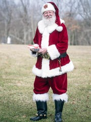 Santa reminds children with poor behavior that they