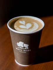White Bison cafe is located off State Route 386 in