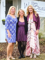 Audrey McCarthy, Linda Stadler and Lisa Espenschied