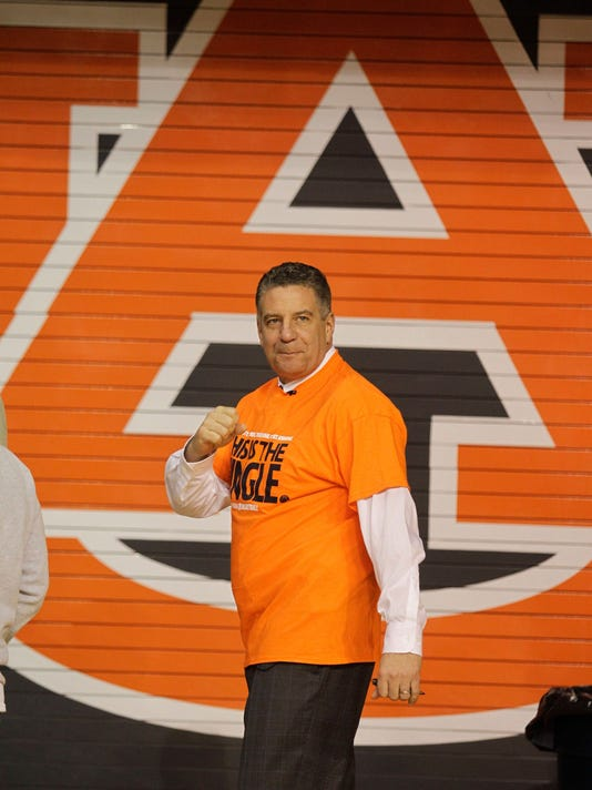 NCAA Basketball: Auburn-Bruce Pearl Press Conference