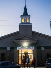 The Christ Church Chapel located at Churchill Downs.