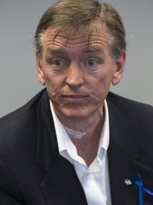 """Rep. Paul Gosar, R-Ariz., acknowledged that """"it does sting"""" thatsix of his nine siblings appeared in an ad for his political opponent."""