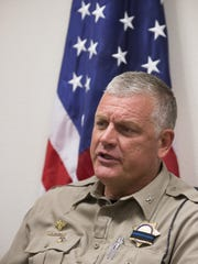 Col. Frank Milstead, the director of the Arizona Department