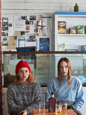 """Morgan Saylor, left, and Sophie Lowe star as sisters in """"Blow the Man Down."""""""