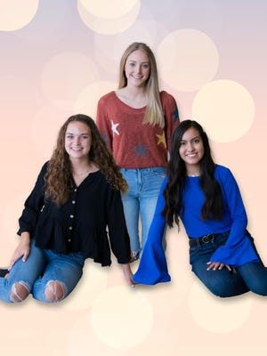 Pictured Above: 2020 Brownwood High School Homecoming Nominees: Preslee Maxfield, Pamela Boyd, Angela Romero.