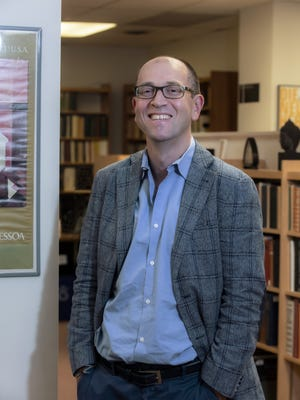 """In response to the impact of the COVID-19 pandemic and the political climate, author and Boston College Professor Maxim D. Shrayer has written a volume of 36 interconnected poems about the effect of these seminal events on American   society titled """"Of Politics and Pandemics: Songs of a Russian Immigrant."""""""