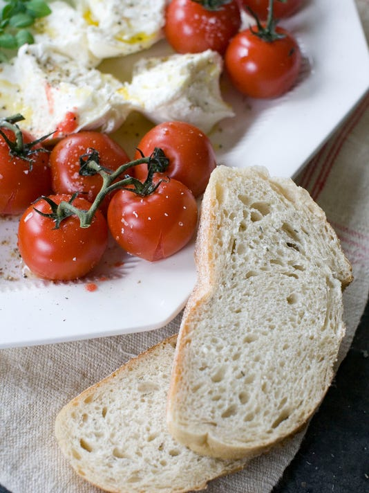 Food American Table Grilled Tomatoes Vert
