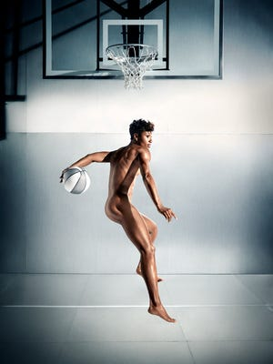 Angel McCoughtry was photographed in Atlanta, where her WNBA team is based, for ESPN The Magazine's sixth annual Body Issue that hits newsstands Friday.
