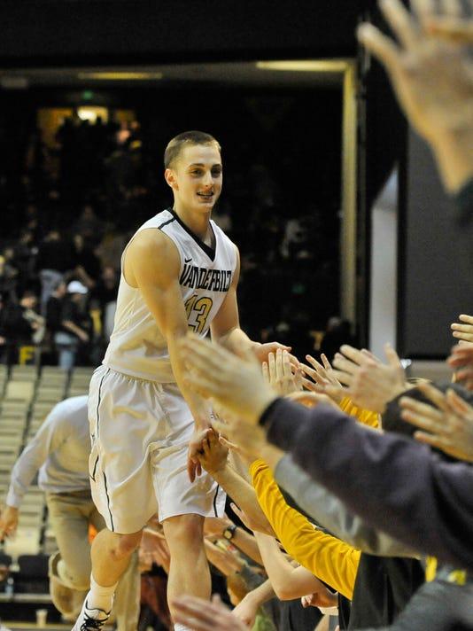 NCAA Basketball: Purdue at Vanderbilt