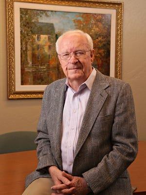 Bob McDermott, 82, still a practicing realtor at his Coldwell Banker office as seen in Mesa on Nov. 11, 2014.