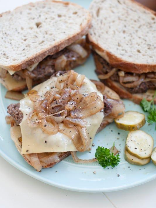 Food American Table Patty Melt