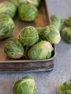 Homegrown Brussels sprouts are a terrific addition to your Thanksgiving dinner. A frost improves their flavor.