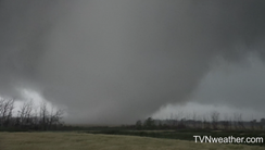 Monday's tornado in Manitoba was on the ground for