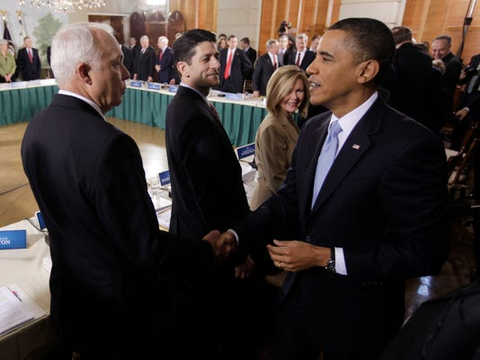 Barack Obama, John Kline, Paul Ryan, Marsha Blackburn