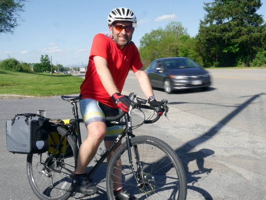 Phil Johnson bike commuter
