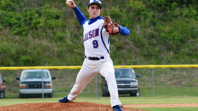 Madison's John Heys has committed to play college baseball for Capital (Ohio).