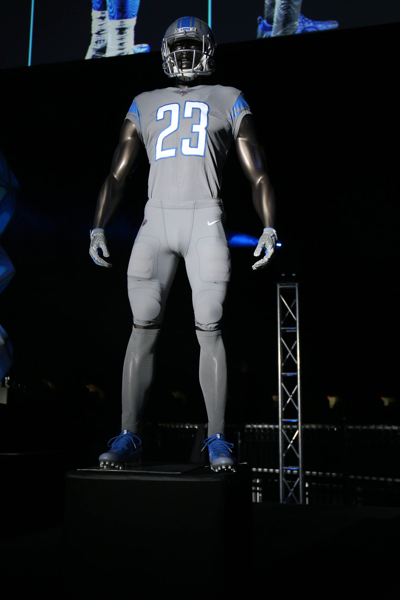 detroit lions color rush jersey