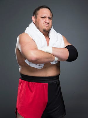 "Samoa Joe is on the card for tonight's broadcast of ""Monday Night Raw"" from the Prudential Center in Newark."