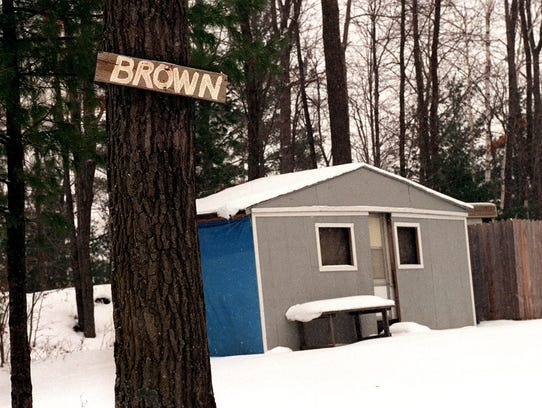 Property belonging to the Brown family located on Island