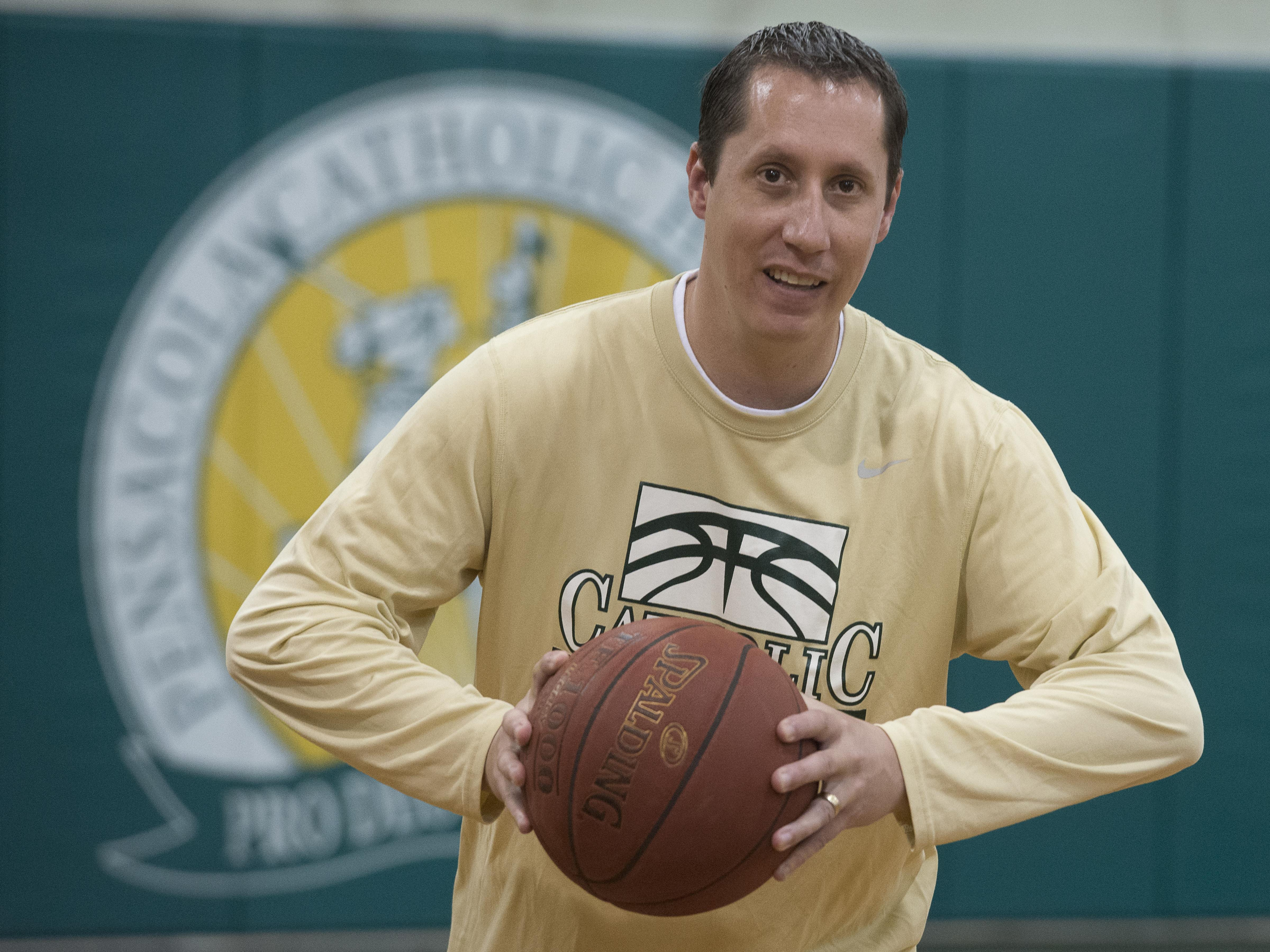 After 14-years at Catholic High School, Nick Mead is resigning as the Crusaders basketball coach.