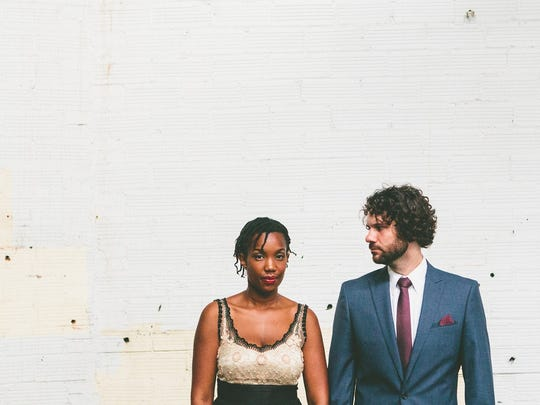 Folk duo the Yellow Kites, Erina and Kendall Ludwig,