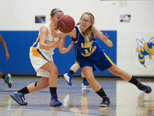 Lamoille vs. Milton Girls Basketball 12/18/15