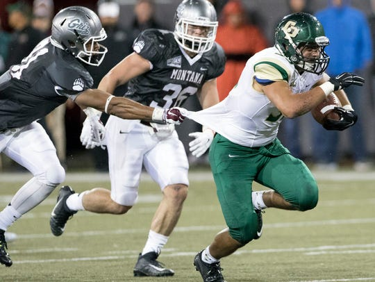 With Joe Protheroe sidelined, Cal Poly fullback Jared