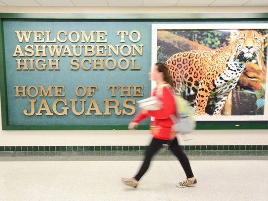 Almost one-third of Ashwaubenon High School's enrollment