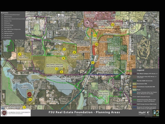 A blueprint for fsus future fsu planning map malvernweather Choice Image